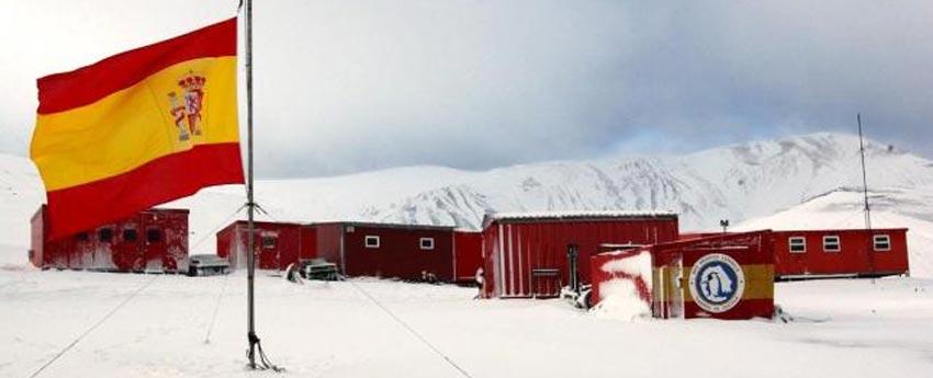 Base antártica Juan Carlos I en la Antártida