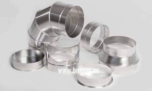 Fabricante de conducto de chapa circular de aluminio