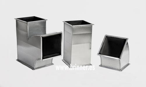 Fabricante de conducto de chapa rectangular aislado interiormente