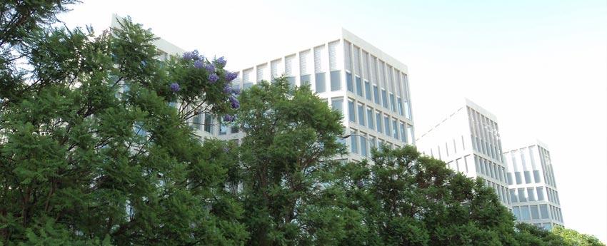 Edificio administrativo de la Junta de Andalucía en Sevilla