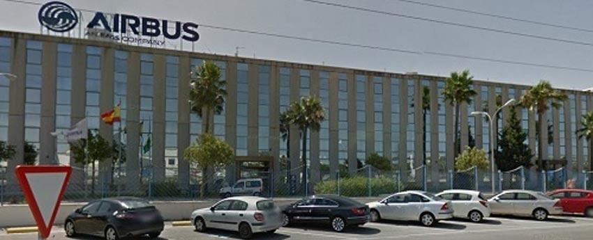 Factoría Airbus de Tablada en Sevilla