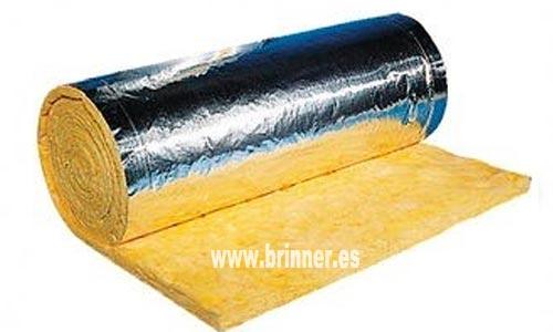 Fibra de vidrio con aluminio para aislamiento de conductos