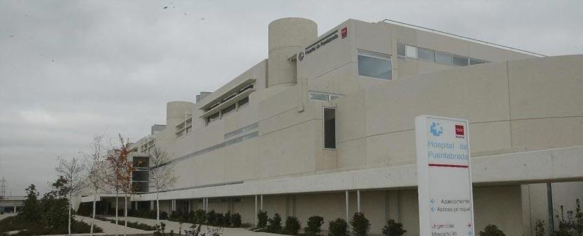 Hospital de Fuenlabrada en Madrid