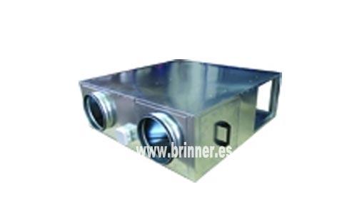 Recuperadores de calor para conductos de chapa