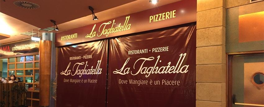 Restaurante Tagliatella de San Fernando en Cádiz