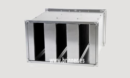 Fabricante de silenciadores acústicos rectangulares