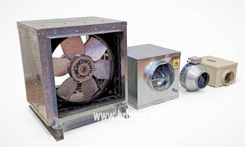 Soluciones de ventilación para conductos de chapa