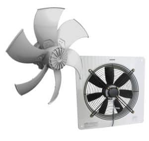 Ventiladores de aire axiales